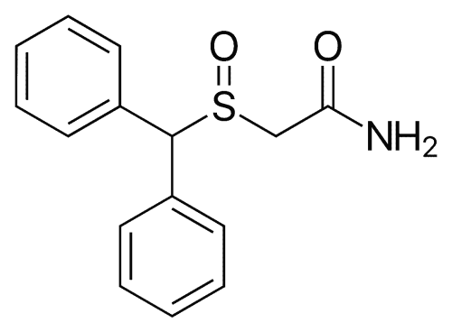 Chemical structure of Provigil 200mg tablets